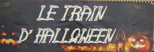 train d'halloween