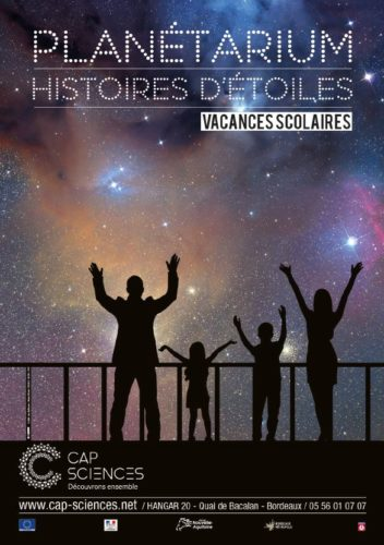 planetarium vacances scolaires