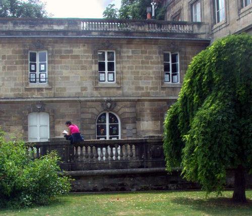 bibliotheque jardin public
