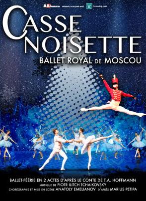 casse noisettes ballet royal de Moscou