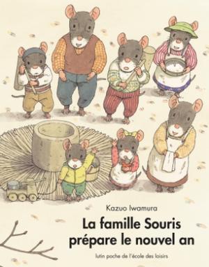 Famille Souris prépare le nouvel an