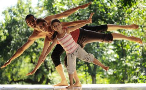 yoga enfant parent