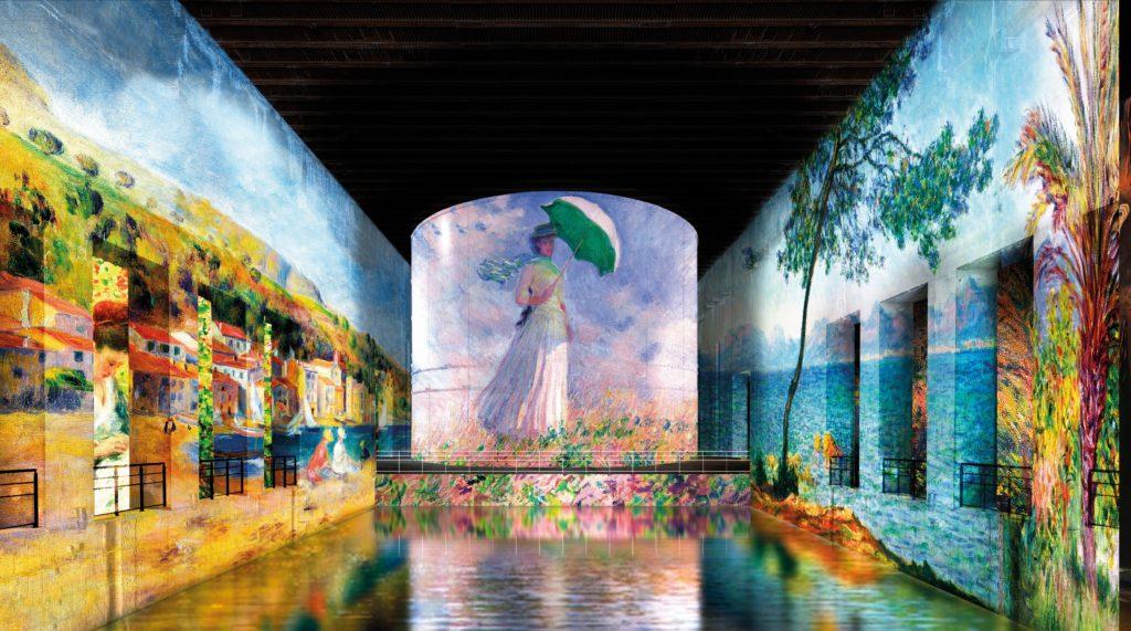 1- Simulation © Culturespaces _Nuit de Chine © akg-images ; Photo © Lefevre Fine Art Ltd., London © Bridgeman Images