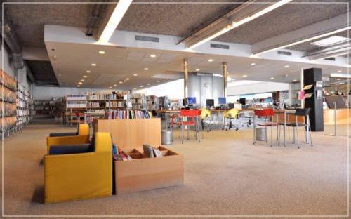 bibliothèque la bastide