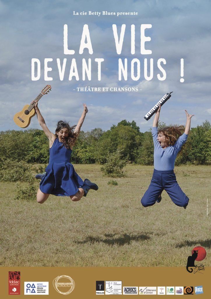 Theatre des Beaux Arts Bordeaux - La Vie Devant Nous - Affiche