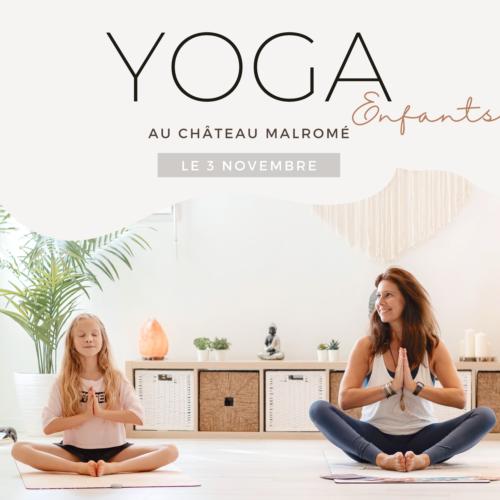 Yoga enfant Malromé