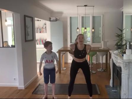 sport a la maison