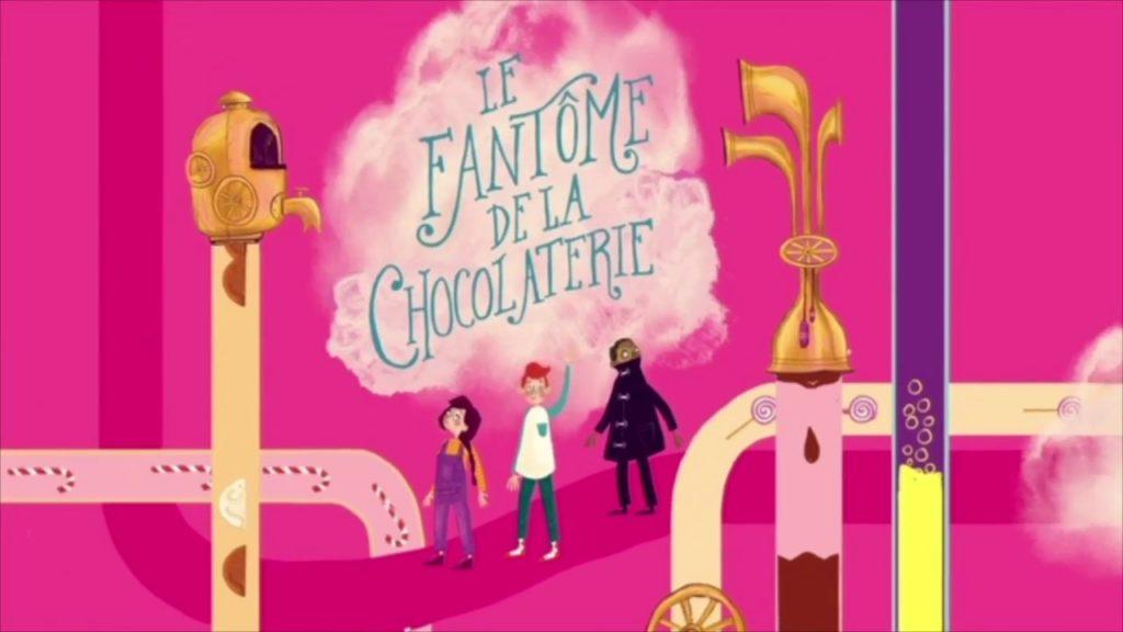 fantome de la chocolaterie