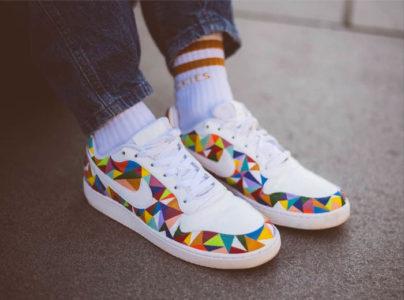 customisation de sneakers