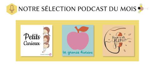 sélection podcast du mois janvier