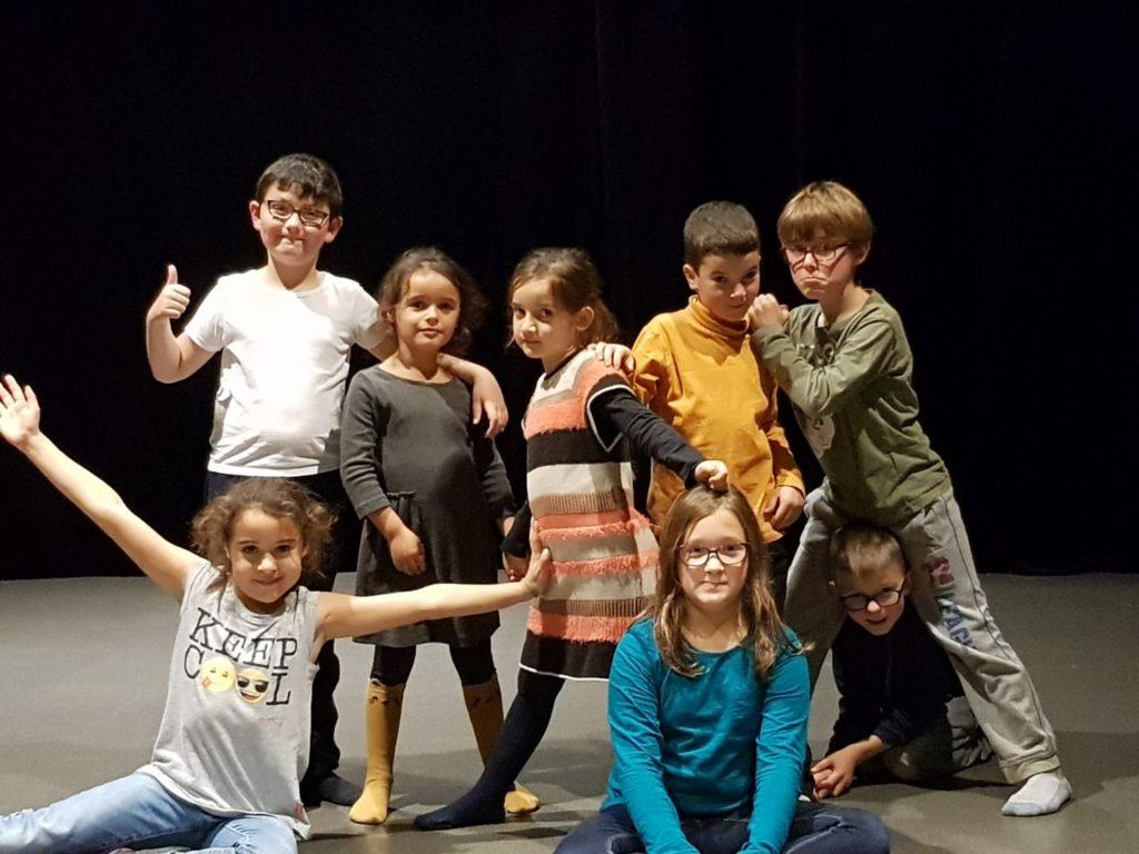 atelier theatre enfants ados