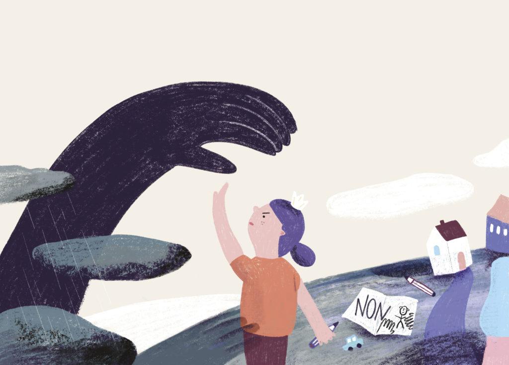 illustration page enfant