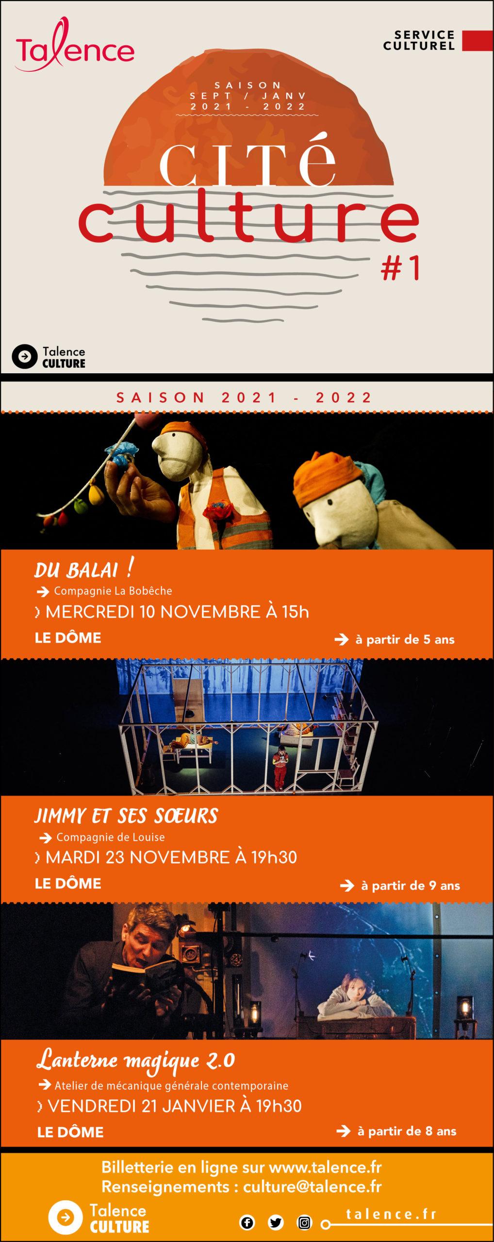 saison culturelle talence 2021/22