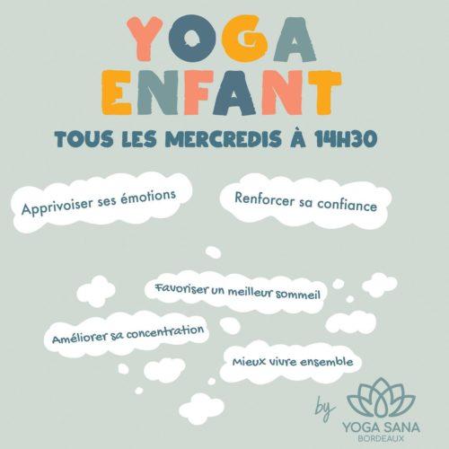 yoga sana enfants
